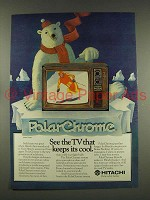 1976 Hitachi Model CT-926 Television Ad - Keeps Its Cool