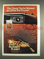 1976 Golden Eagle Over/Under Grade I Shotgun Ad