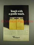 1976 Whirlpool Washer & Dryer Machine Ad