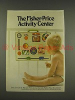 1976 Fisher-Price Toys Ad - Activity Center