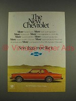 1977 Chevrolet Caprice Classic Coupe Car Ad