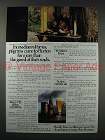 1980 Double Diamond Burton Export Ale Ad - Pilgrims