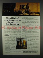 1980 Double Diamond Burton Export Ale Ad - Brews