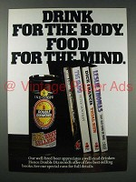 1980 Double Diamond Burton Export Ale Ad - For Mind