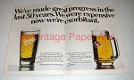 1978 Stella Artois Beer Ad - Now We're Exorbitant
