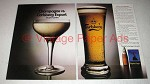 1984 Carlsberg Export Beer Ad - Champagne