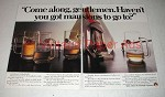 1984 Stella Artois Beer Ad - Got Mansions To Go To