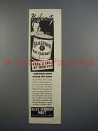 1936 Pabst Blue Ribbon Malt Extract Ad - Uniformity