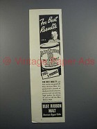 1940 Pabst Blue Ribbon Malt Extract Ad - Best Results