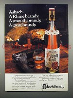 1978 Asbach Brandy Ad - A Smooth Brandy