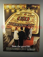 1983 E&J Brandy Ad - Taste the Good Life