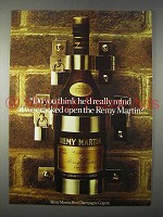 1977 Remy Martin Cognac Ad - Cracked Open