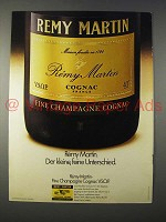 1977 Remy Martin Cognac Ad - in German