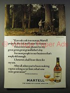 1977 Martell Cognac Ad - Oak Cask is To Mature Properly