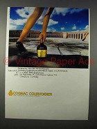 1977 Courvoisier Cognac Advertisement- in German