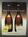 1978 Remy Martin Cognac Ad - Lucky This Christmas?