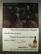 1979 Martell Cognac Ad - Tastes Have Changed