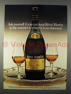 1979 Remy Martin Cognac Ad - Ask Yourself