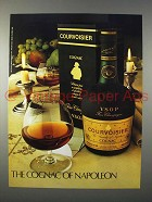 1981 Courvoisier Cognac Ad - The Cognac of Napoleon