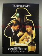 1984 Courvoisier Cognac Ad - The Born Leader