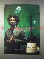 2004 Hennessy Privilege Cognac Ad - Are You Privileged?
