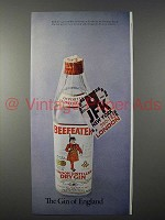 1971 Beefeater Gin Ad - The Gin of England