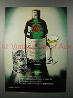 1979 Tanqueray Gin Ad - Own a Bottle