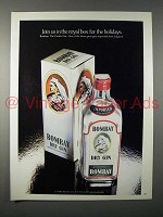 1980 Bombay Dry Gin Ad - Join Us in the Royal Box
