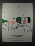 1990 Tanqueray Gin Ad - Spruce up Their Holiday