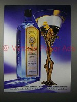 1994 Bombay Sapphire Gin Ad - Crafted by Stephen Dweck
