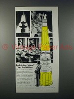 1970 Galliano Liqueur Ad - Fond of Italiano?