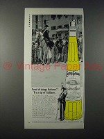 1970 Galliano Liqueur Ad - Fond of Things Italiano?