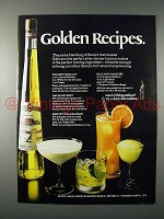 1970 Galliano Liqueur Ad - Golden Recipes