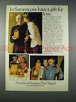 1978 Amaretto Di Saronno Liqueur Ad - Gift for Love