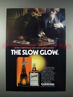 1978 Cointreau Liqueur Ad - The Slow Glow