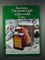 1980 Amaretto Di Saronno - Greatest Gift, Love