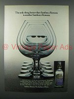 1981 Sambuca Romana Liqueur Ad - Only Thing Better