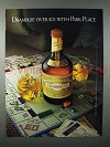 1982 Drambuie Liqueur Ad - Over Ice with Park Place