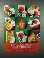 1986 Amaretto Di Saronno Ad - Say it With Roses