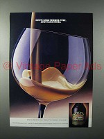 1986 Baileys Irish Cream Liqueur Ad - Invite Friends