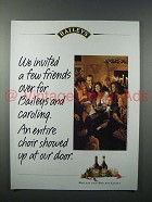 1993 Baileys Irish Cream Liqueur Ad - Invited Friends