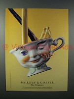 1996 Baileys Irish Cream Liqueur Ad - Baileys & Coffee