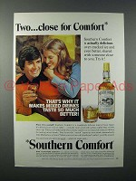 1975 Southern Comfort Liquor Ad - Two Close