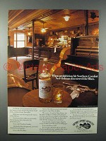1977 Southern Comfort Liquor Ad - New Orleans Blues