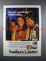 1979 Southern Comfort Liquor Ad - Something Comfortable