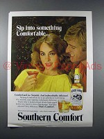 1979 Southern Comfort Liquor Ad - Sip Into Something