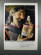 1971 Don Q Rum Ad - Named After #1 Nut in Spain