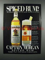 1983 Captain Morgan Spiced Rum Ad