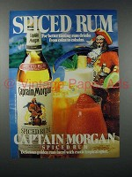 1983 Captain Morgan Spiced Rum Ad - NICE!
