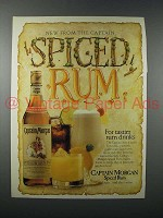 1984 Captain Morgan Spiced Rum Advertisement